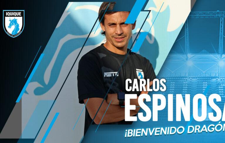¡Bienvenido, Carlos Espinosa!
